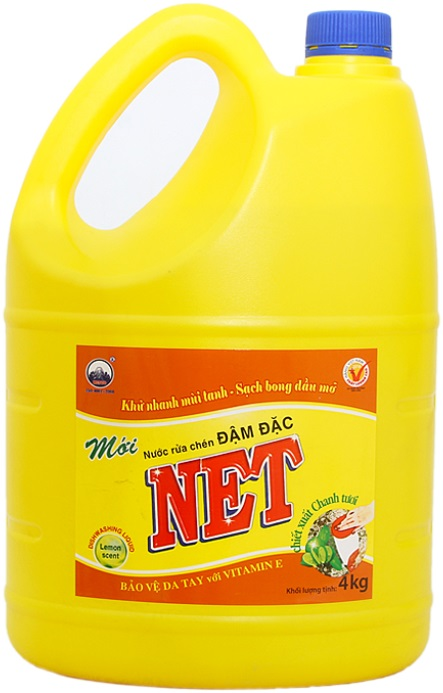 Net Concentrate Dish Washing Lemon 4kg