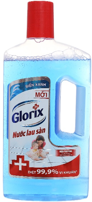 Glorix Floor Cleaner Blue Ocean 950ml x 12 Btls