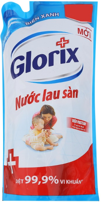 Glorix Floor Cleaner Blue Ocean 950ml x 12 Bags