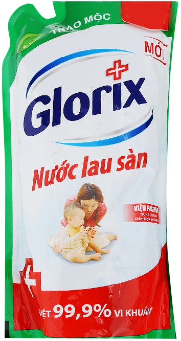 Glorix Floor Cleaner Herb 950ml x 12 Bags