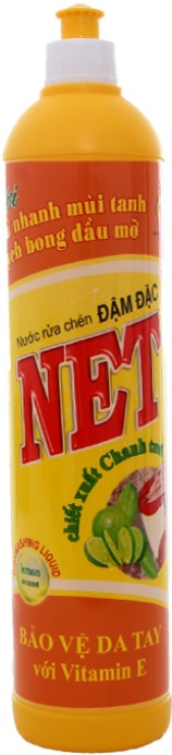 Net Concentrate Dish Washing Lemon 800gr