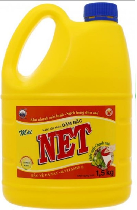 Net Concentrate Dish Washing Lemon 1,5kg