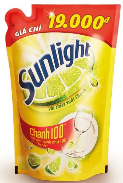 Sunlight dish washing Lemon 750grx 18 Bags