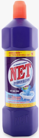 Net Toilet Cleaner Power Clean 900gr