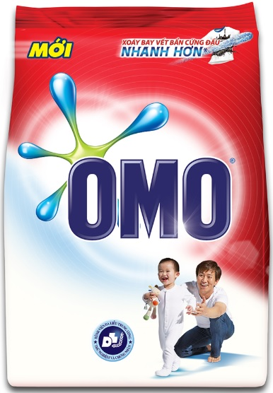 OMO Smooth Skin Detergent Powder 4,1kg