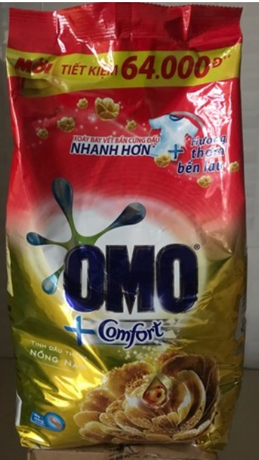 OMO Comfort Aromatic Oil Detergent Powder 5,5kg