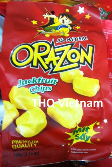 Jackfruit chips 100gr