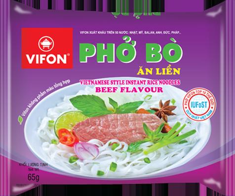 Vifon rice noodle beef 65gr