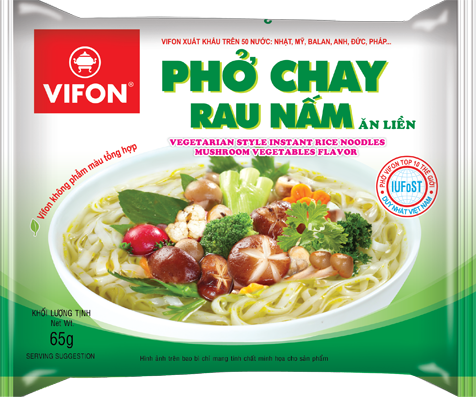 Vifon rice noodle mushroom 65gr