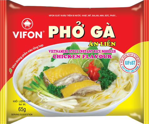 Vifon rice noodle chicken 65gr