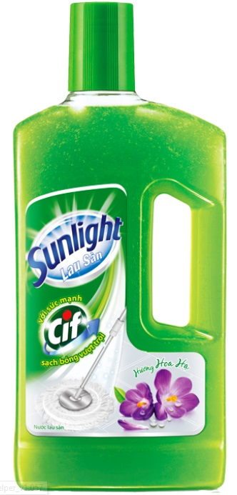 Sunlight Cif Floor Cleaner Flower Fragrance 1Kg x 12 Btls