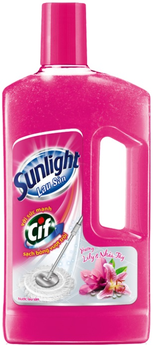Sunlight Cif Floor Cleaner Lily and Jasmine 1Kg x12 Btls