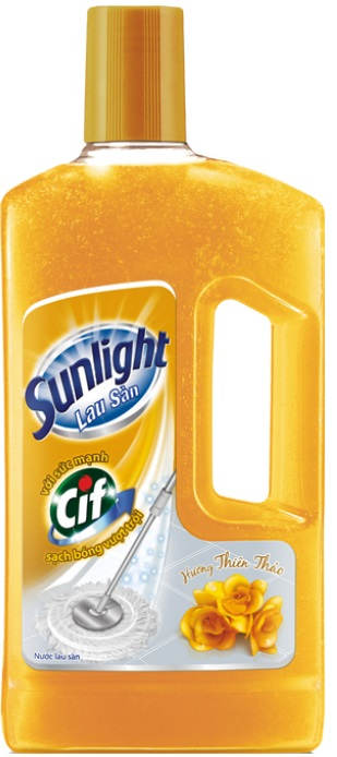 Sunlight Cif Floor Cleaner Floral Fragrance1Kg x 12 Btls