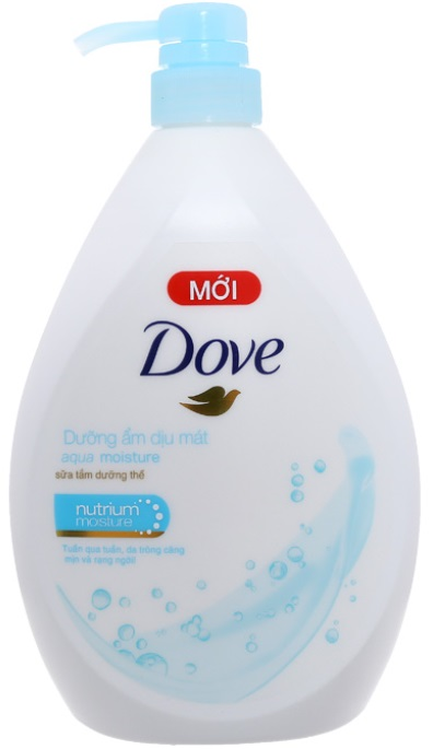 Dove Shower Gel Aqua Moisture 900gr x 12 Btls