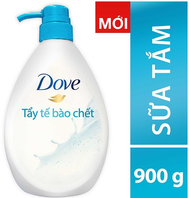 Dove Shower Gel Gently Exfoliating 900gr x 12 Btls