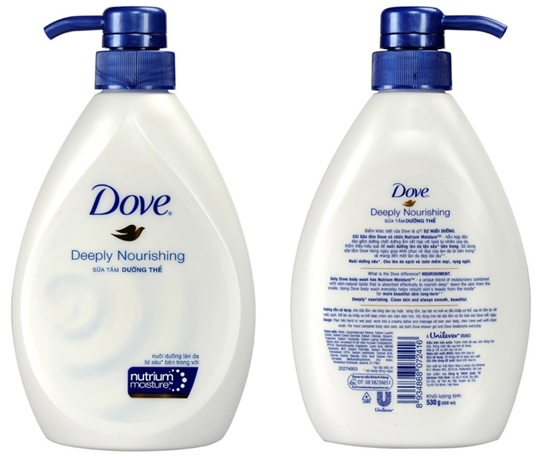 Dove Shower Gel Deeply Nourihing 530gr x 12 Btls