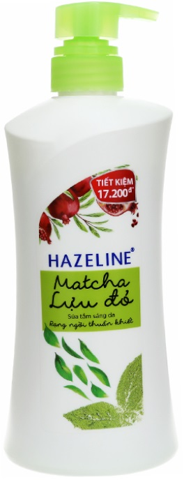 Hazeline Shower Gel Matcha Pomegranate 700gr x 8 Btls