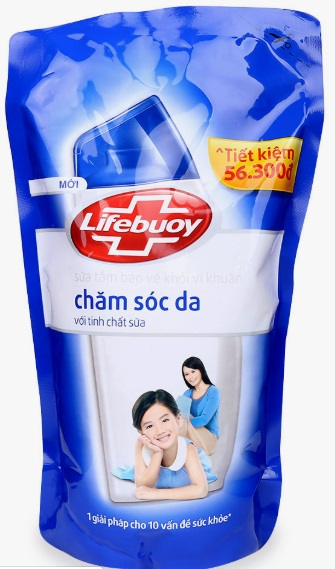 Lifebuoy Shower Gel Protect Skin  850gr x 12 bags