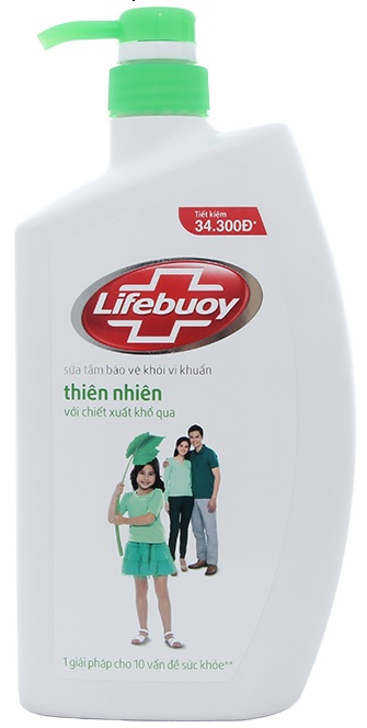 Lifebuoy Shower Gel Nature 850gr x 12btls