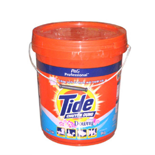 Tide plus Downy wahsing powder 9kg bucket