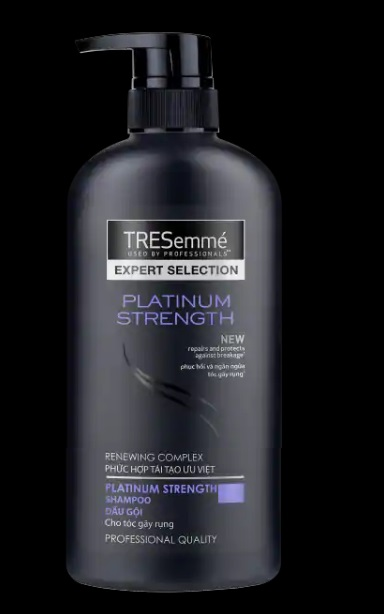 Tresemme Shampoo Platinum Strength 650gr x 8 Btls