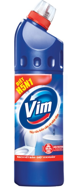 Vim Blue Toilet Cleaner 500ml x 24 Btls