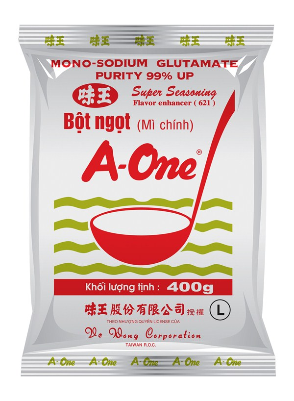 A One monosodium glutamate 400gr