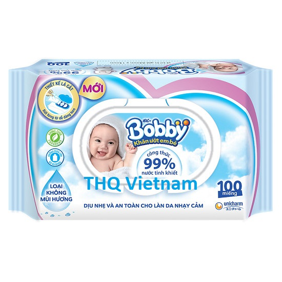 MamyPoko Bobby baby Wipes 80pcs