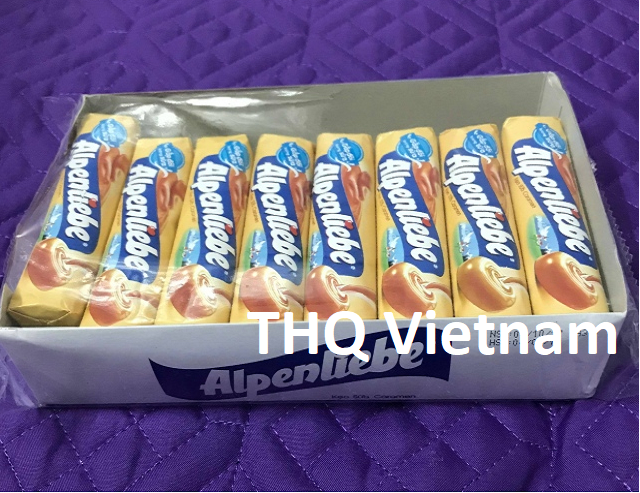 Alpenliebe rich milky caramel toffee candy roll