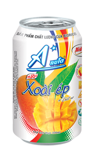 Anuta FruitJuice Mango Flavor  330ml x 24 can