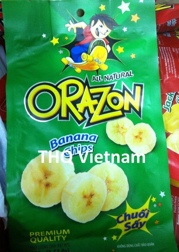 Ozaron banana chips
