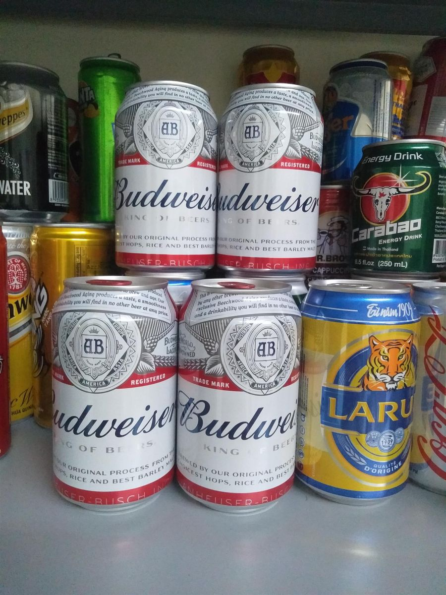 Budweiser Beer in can 330ml