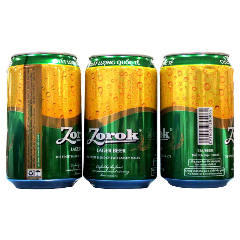 Zorok Beer 330ml in can