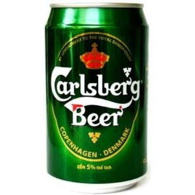 Carslberg beer 330ml can