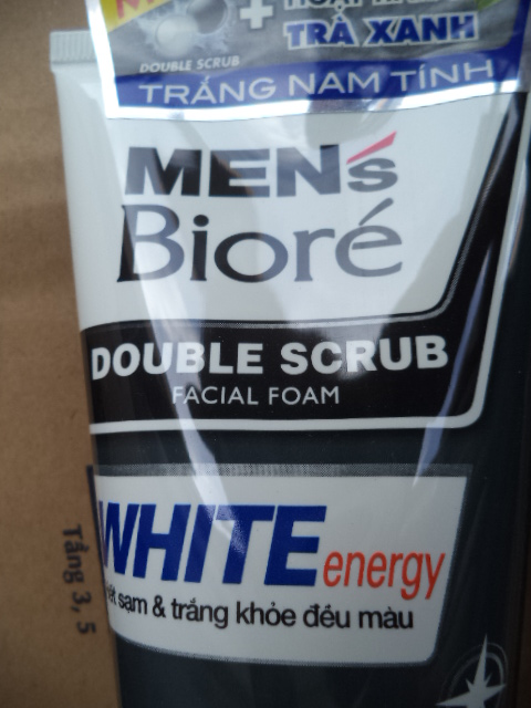 Biore Men facial foam 100gr