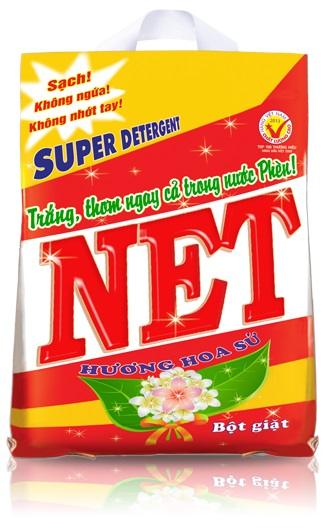 Net wash powder detergent 6kg x 2 packs