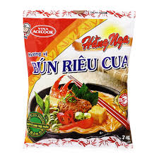 Hang Nga crab instant rice vermicelli 30 packs x 75gr