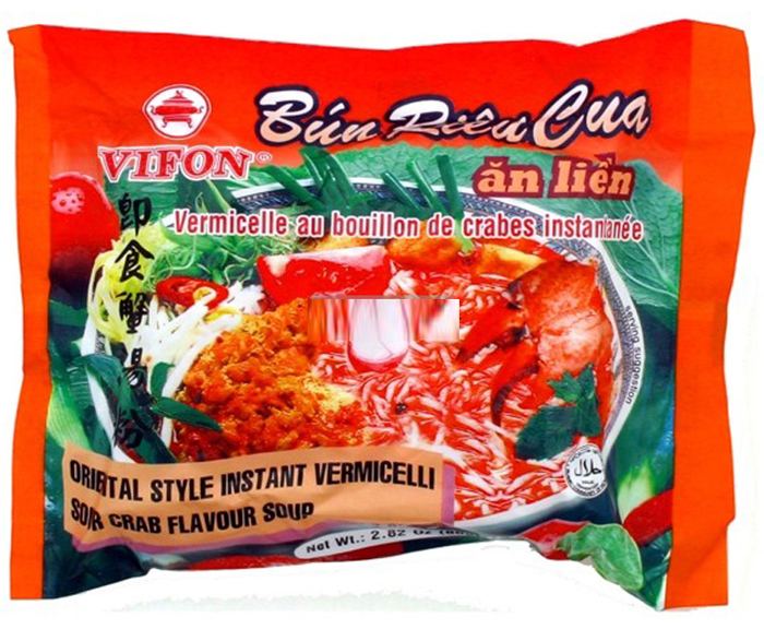 Vifon rice vermicellie with crab soup 80gr