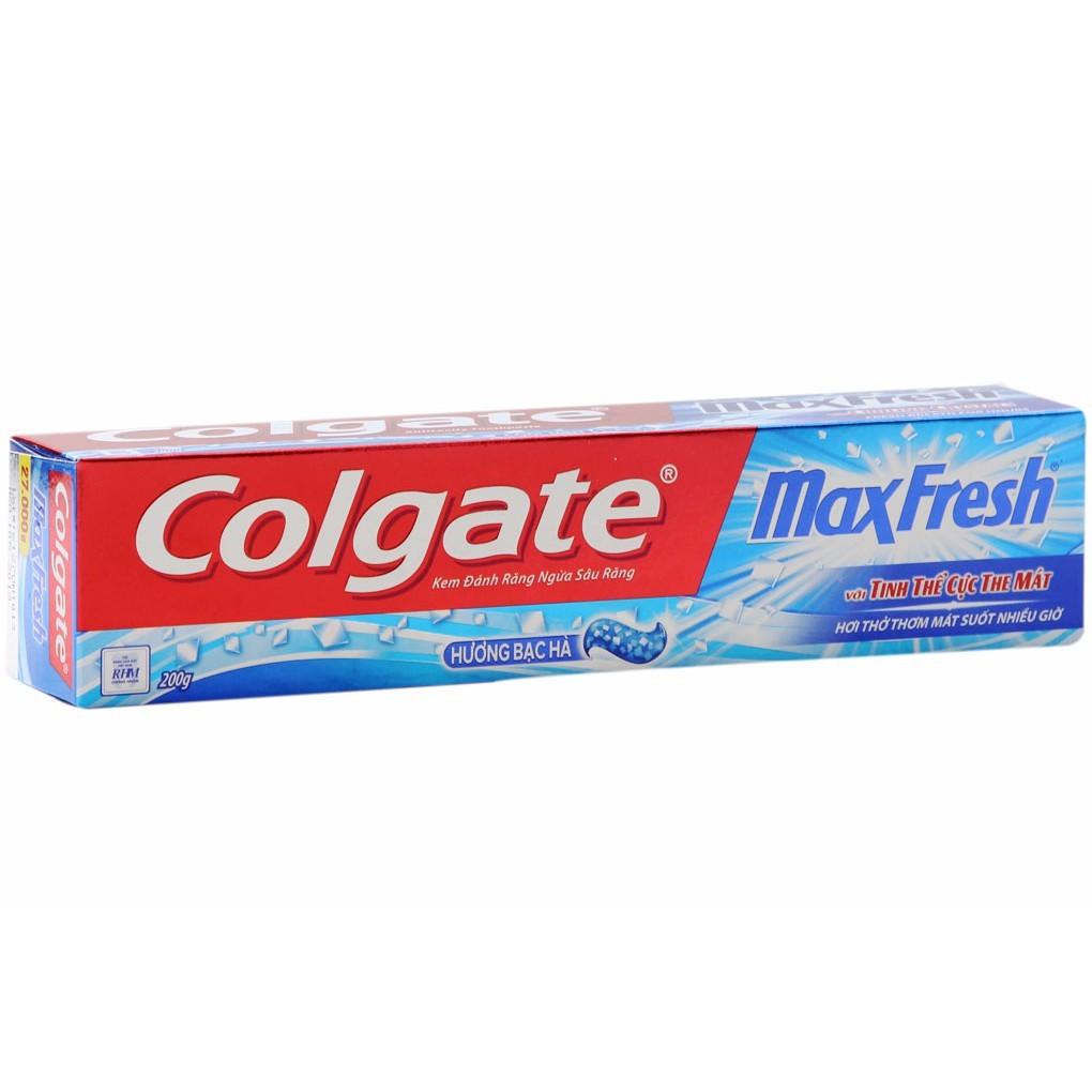 Colgate maxfresh 140gr/200gr origin VN