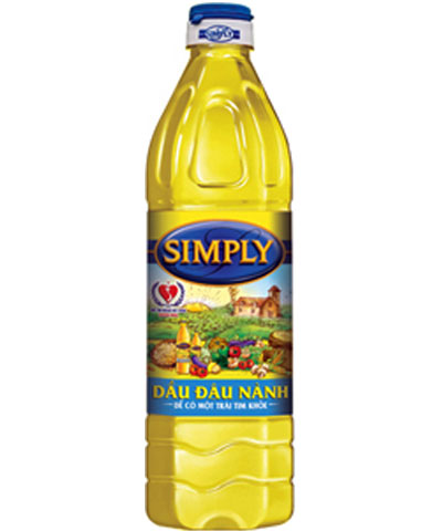 Simply soybean oil 1L