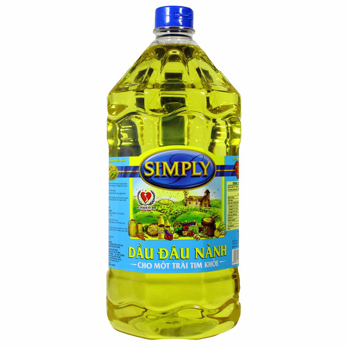 Simply pure soybean oil 2L