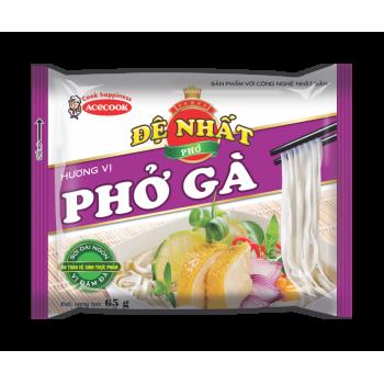 De Nhat rice noodle beef flavor 65gr