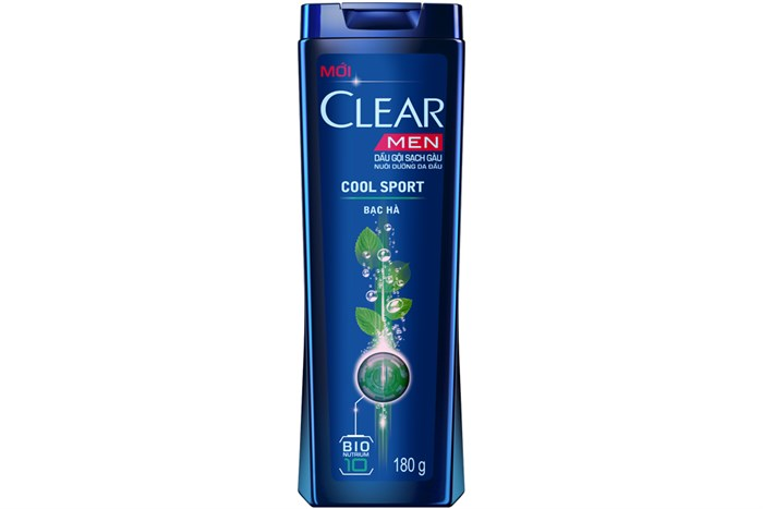 Clear shampoo men sport origin Vietnam