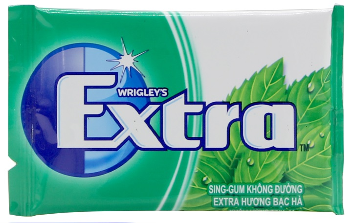 Wrigley's Doublemint Extra Sweetmint Blister 11gr