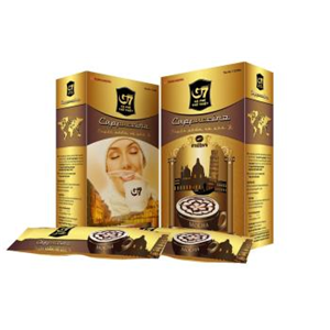 G7 Cappuccino Mocha 6 boxes x 12 sachets x 18g