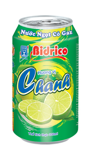 Bidrico Carbonated Lemon flavor 330ml x 24can