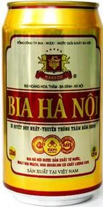 Hanoi beer in 330ml can
