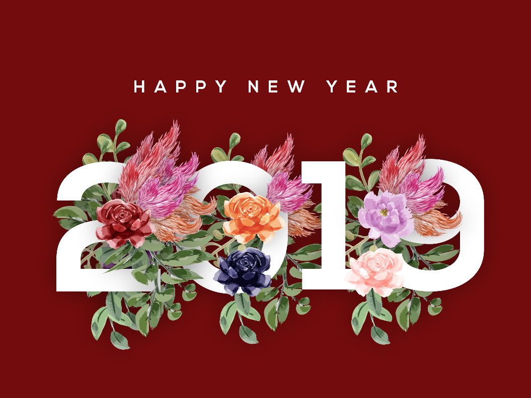 hình ảnh Happy New Year 2019 Clip Art free happy new year clip art 2019