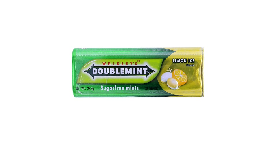 Wrigley's Doublemint Chewing Gum Lemon Ice 23.8gr