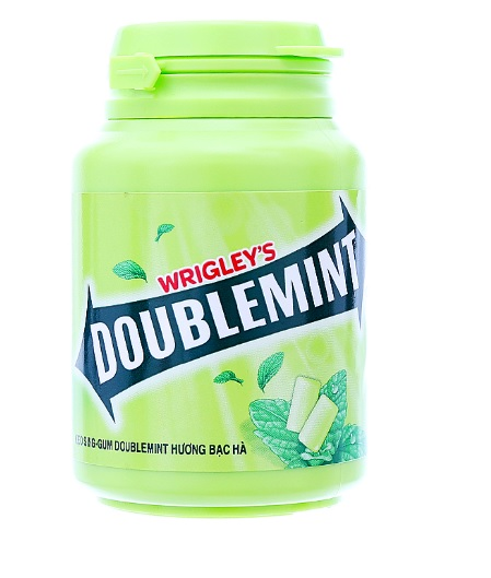 Wrigley's Doublemint Chewing Gum Jar 58.4gr